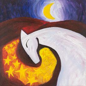 Mondpferd (1) von Ivonne Sommer