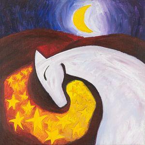 maanpaard (1) van Ivonne Sommer