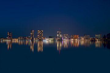 Almere Skyline 2 van Bart Hendrix