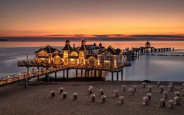 Zonsopgang op het eiland Rügen van Achim Thomae