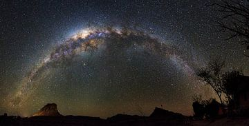 Melkweg in de nacht von Dennis van de Water