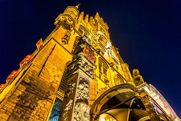 Stadhuis Gouda closeup sur Michael van der Burg