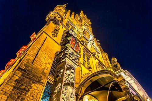 Stadhuis Gouda closeup