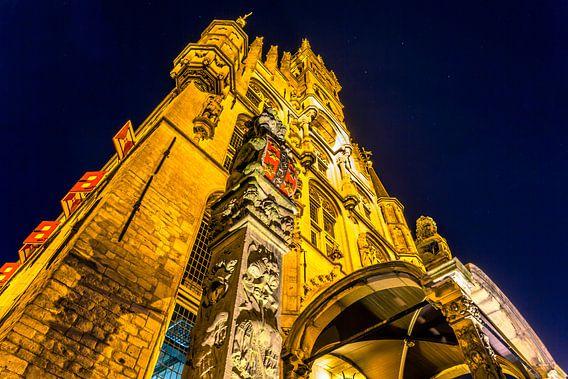 Stadhuis Gouda closeup van Michael van der Burg
