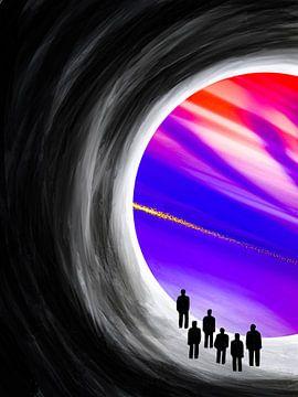 Licht aan het einde van de tunnel van Keep Magic