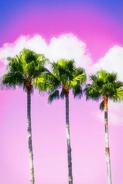Miami Beach I van Uwe Merkel