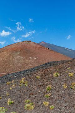 Vue du volcan Etna en été en Sicile, Italie sur WorldWidePhotoWeb