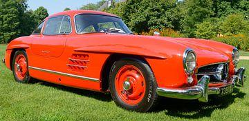 Mercedes-Benz 300SL Gullwing voitures de sport des années 1950 sur
