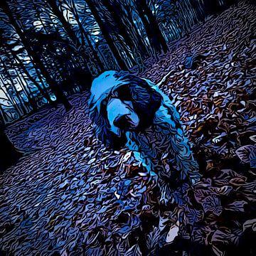 Dark spaniel von Eric de Haan