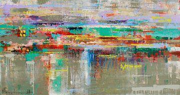 Flucht Reflexion von Atelier Paint-Ing