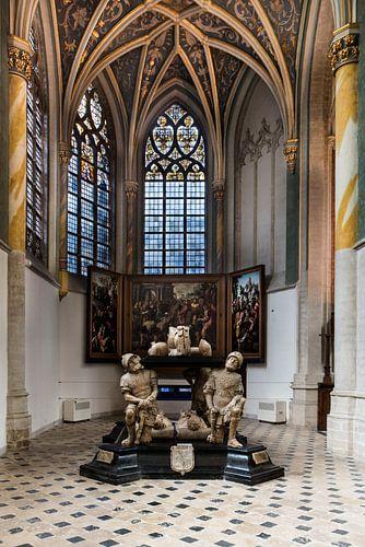 Prinsenkapel in de Grote Kerk van Breda van