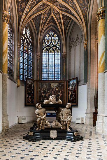Prinsenkapel in de Grote Kerk van Breda van Jan Sluijter