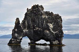 Hvitserkur monster rots, Ijsland