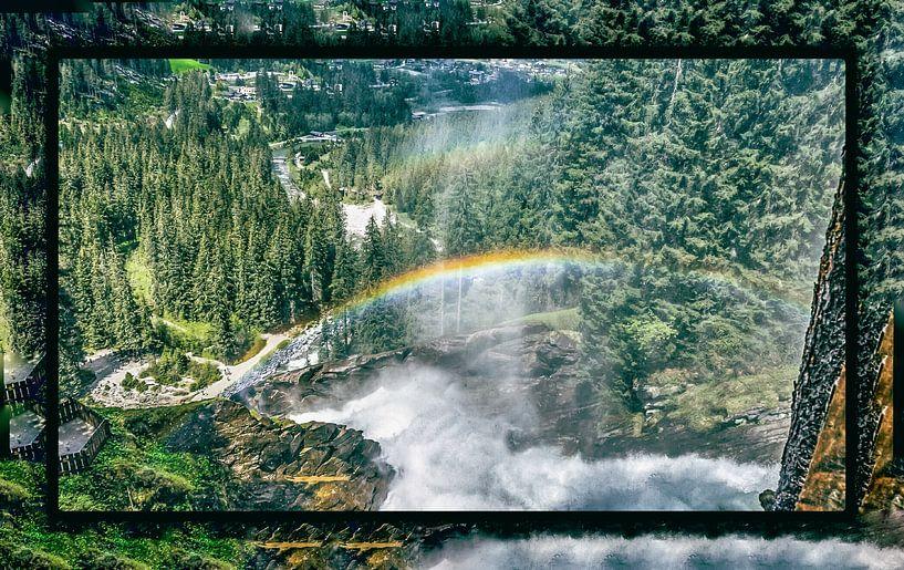Rainbows on a clear day van Henk Schmitz