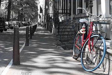 Bonte kleuren in Amsterdam van Tim Briers