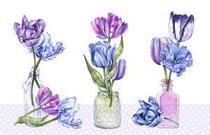 Tulpen-Stilleben