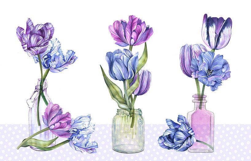 Tulpen-Stilleben von Geertje Burgers