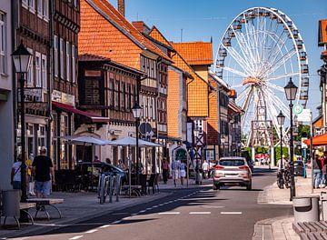 Altstadt von Wernigerode mit Riesenrad von Animaflora PicsStock