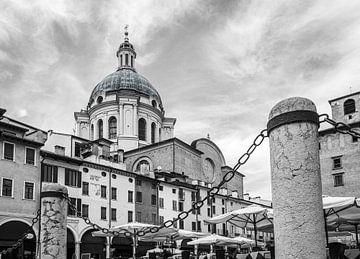 Piazza delle Erbe Mantua von Jefra Creations