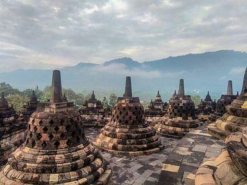 Borobudur tempel van Daan Duvillier