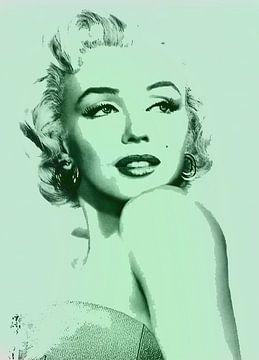 Marilyn Monroe in Pastel