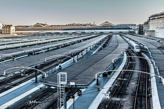 Station Gare du l'est in Parijs