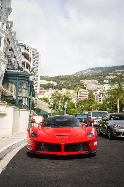 Ferrari LaFerrari in Monaco! van joost prins