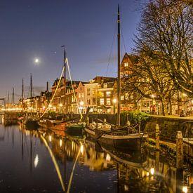 Aelbrechtskolk Delfshaven Rotterdam von Frans Blok