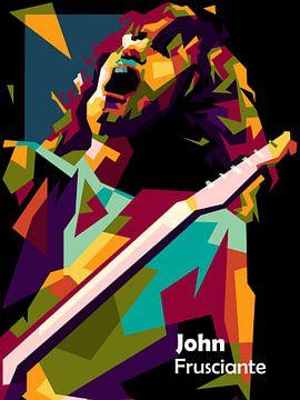 John Frusciante geweldige kunst van miru arts