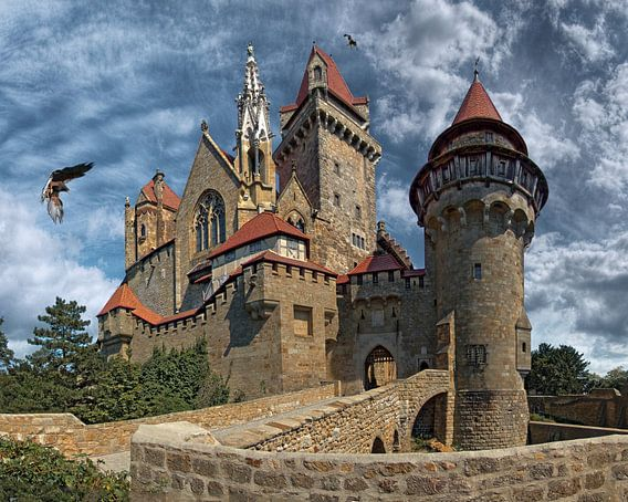 Burgt Kreuzenstein Oostenrijk van Rens Marskamp