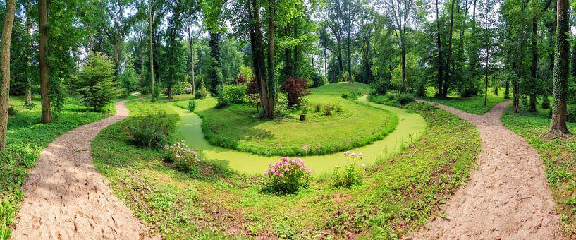 Park Kasteel Loenersloot panorama van Dennis van de Water