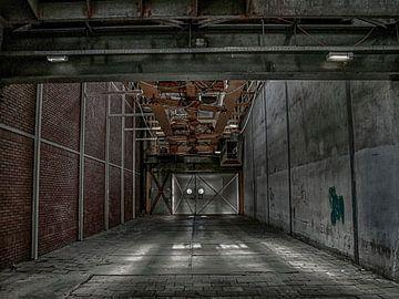 industrie gang fabriek van Evelien van der Horst