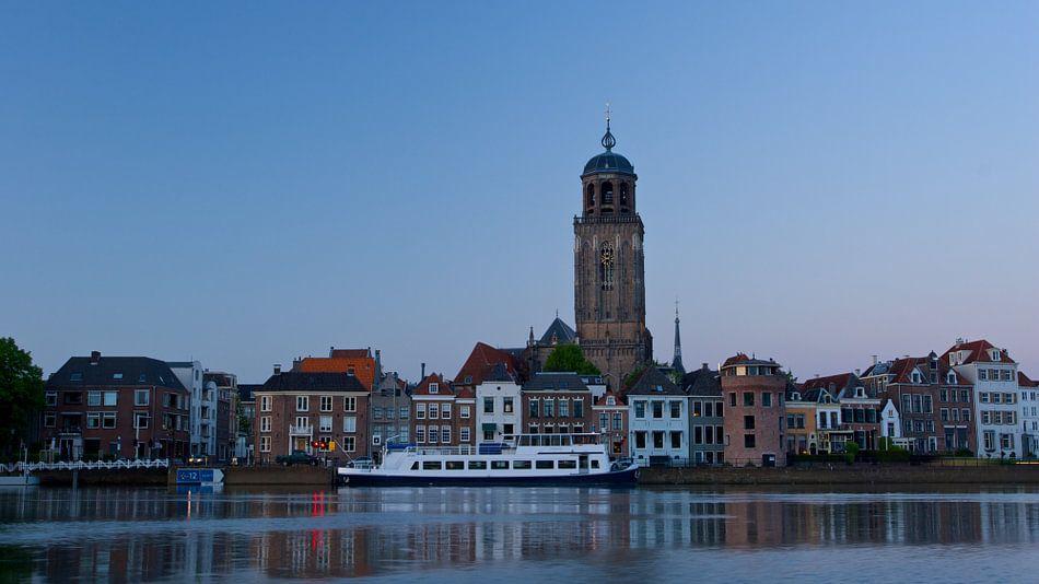 Deventer skyline van Eddo Kloosterman