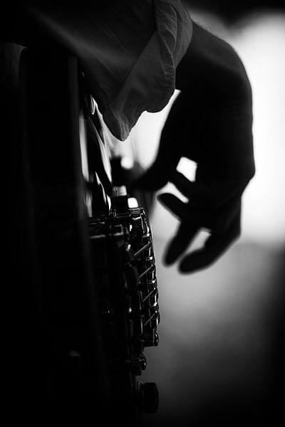 Jazz Bassist van Rob van der Teen