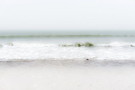 Strand en zee van Eddy Westdijk