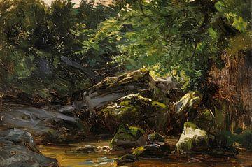 Carlos de Haes-Creek-Steinlandschaft, Antike Landschaft