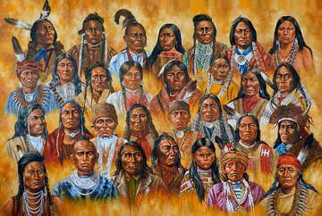 the Buffalo People van Ricky Smeets