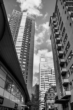 Rotterdam Stadtbild in schwarz und weiß von Photography by Naomi.K