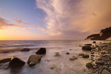 Morgens an der Kreideküste van Marko Sarcevic