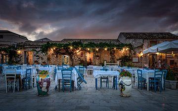Marzamemi i Sicilie van Mario Calma