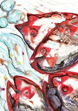 Fischen im Strom von Christa Kerbusch