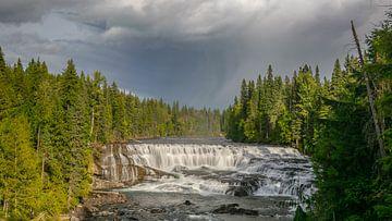 Dawson Falls, Wells Gray Provinzpark von Erik Noort