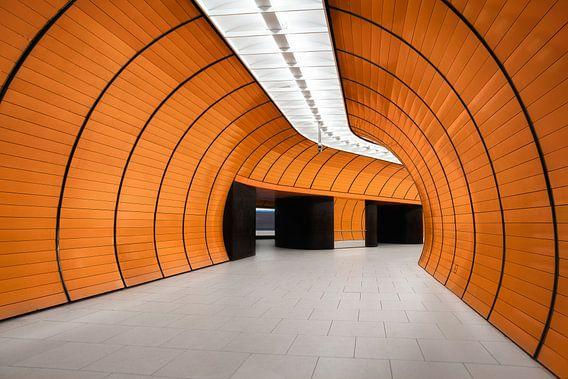 Marienplatz München van Martijn Kort