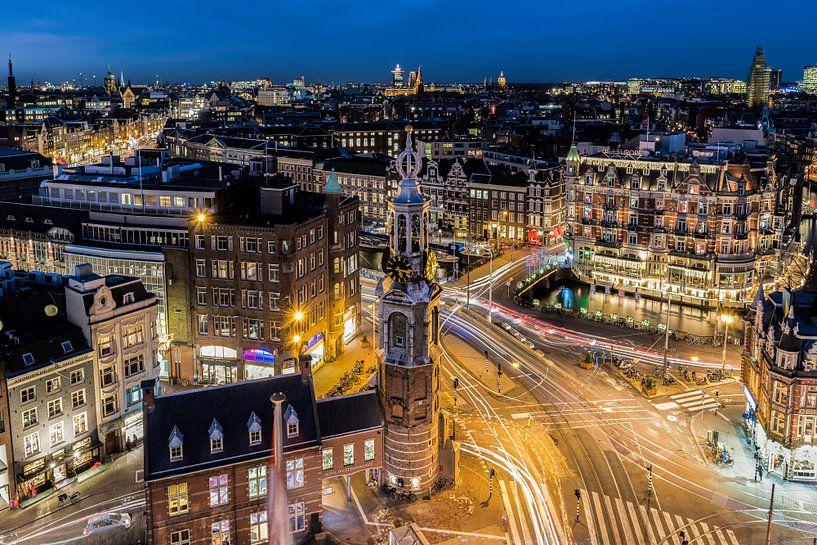 Muntplein, Amsterdam van Renzo Gerritsen