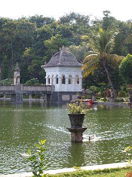 Ujung Water Palace van Annie Lausberg-Pater