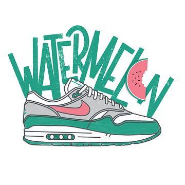 """Nike Air Max 1 """"Wassermelone"""" von Pim Haring"""