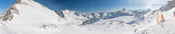 Sneeuwlandschap - Fulpmes - Stubai - Tirol von Erik van 't Hof