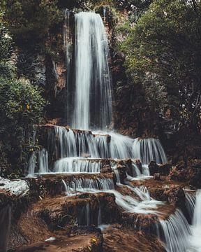 Waterval in Italie van Delano Balten