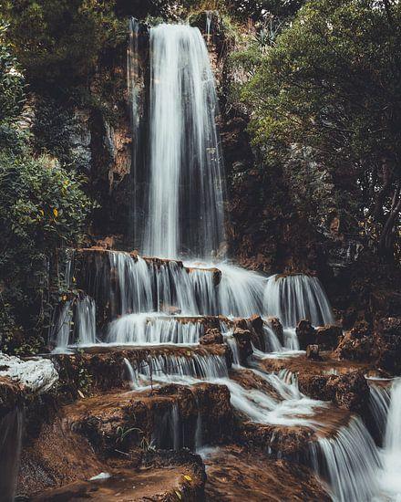 Waterval in Italie