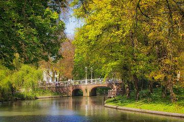 De Maliebrug in Utrecht over de Stadsbuitengracht (1) van